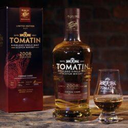Tomatin выпустил виски, выдержанный в бочках из-под коньяка